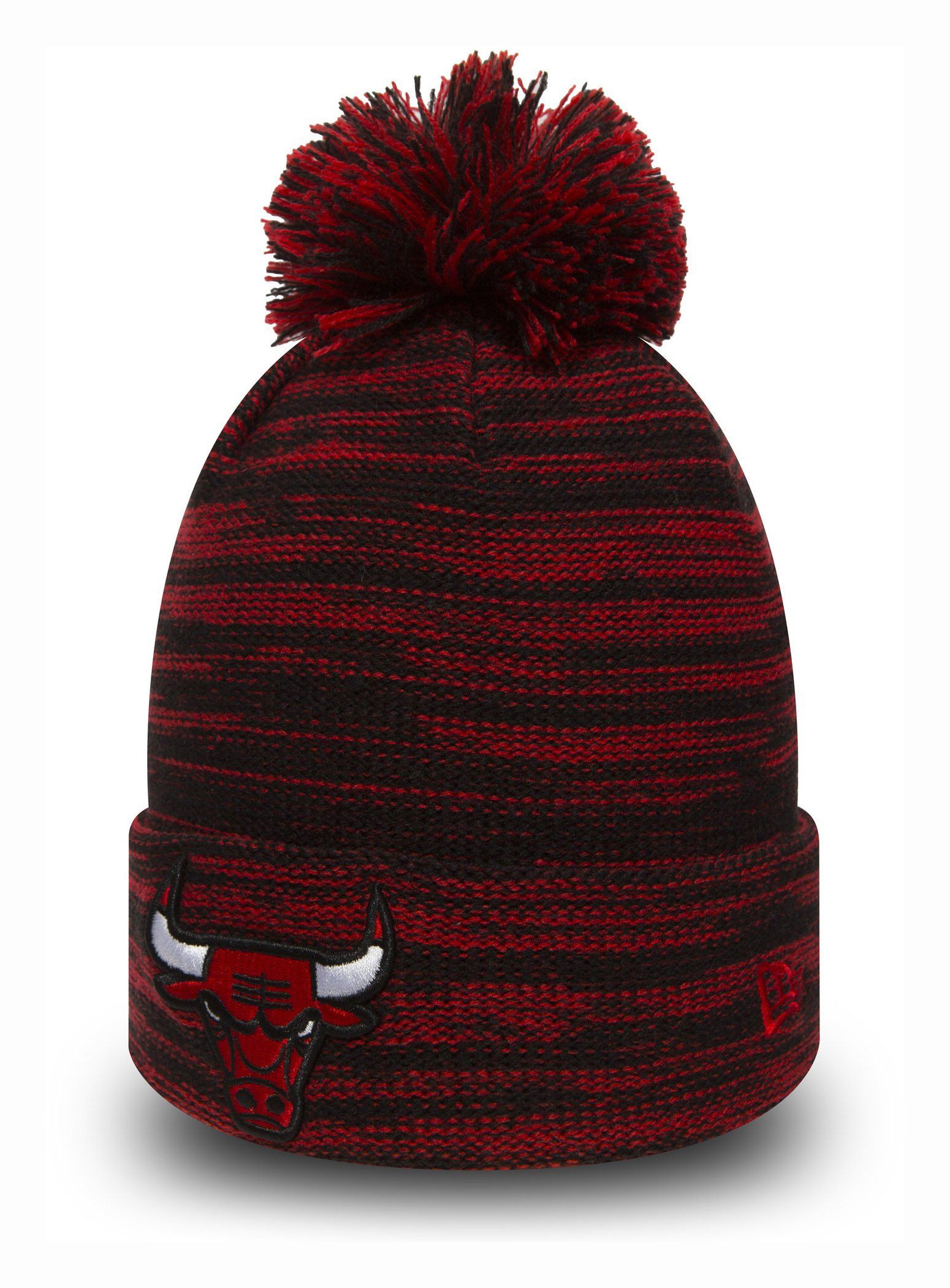 4ff1bd75680 Chicago Bulls New Era Kids Marl Knit Bobble Hat (Age 5 - 10 years) –  lovemycap