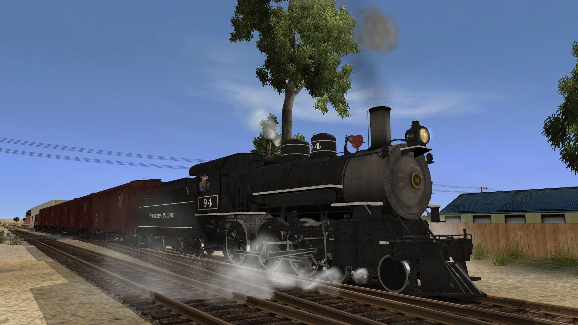 K&L Trainz - Western Pacific TP-29 4-6-0 NOW AVAILABLE! | Trains