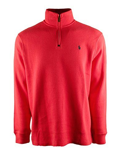 6f5607e1c94 POLO RALPH LAUREN Polo Ralph Lauren Men s Half Zip French Rib Cotton Sweater.   poloralphlauren  cloth