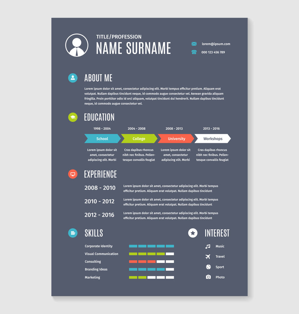 How to Write a Resume Employers Will Notice - Cv template, Resume, Resume cv, Resume templates, Lettering, Employment - How can you make your resume stand out to potential employers  There are a few guidelines to follow that can help your resume shine  Better still, a winning resume may encourage employers to contact…