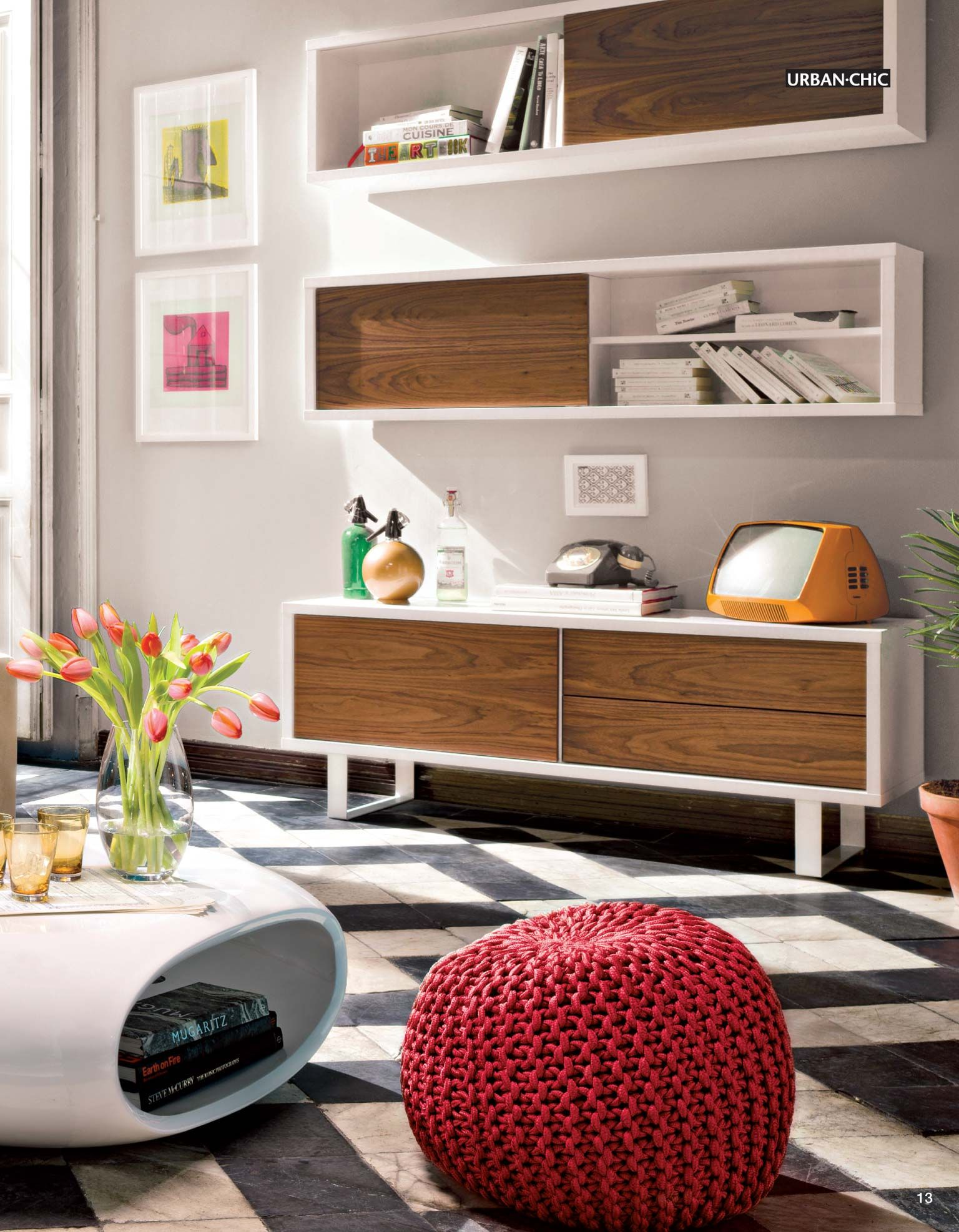 Mueble de tv urban chic nilo dormitorios pinterest salons living rooms and room - Muebles urban chic ...