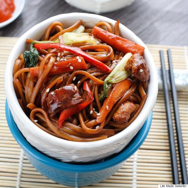 Slow Cooker Chicken Lo Mein Recipe For An Easy Weeknight