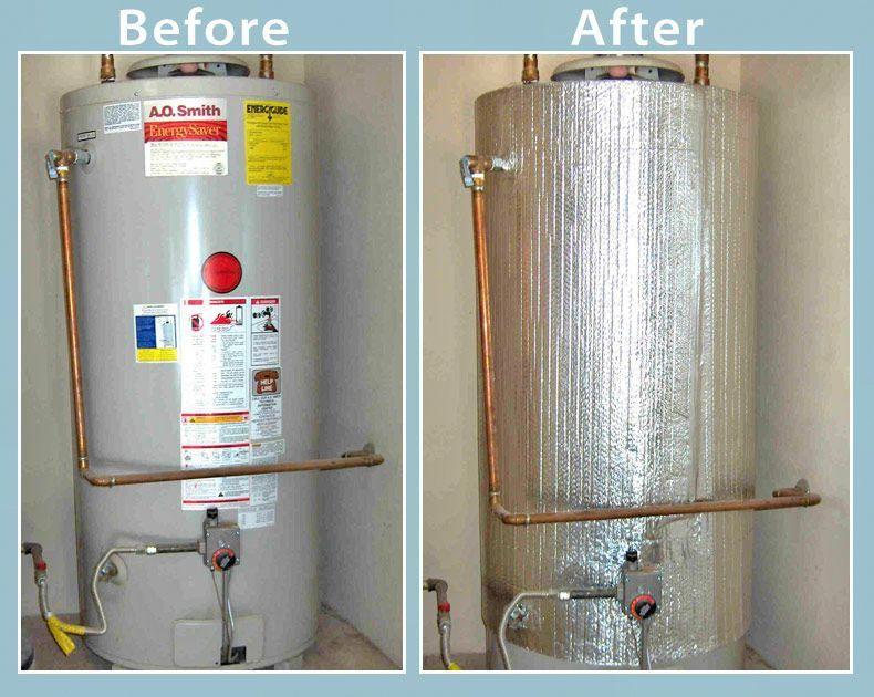 Hot Water Heater Reflective Jacket Water Heater Blanket Solar Power Panels Solar Panels