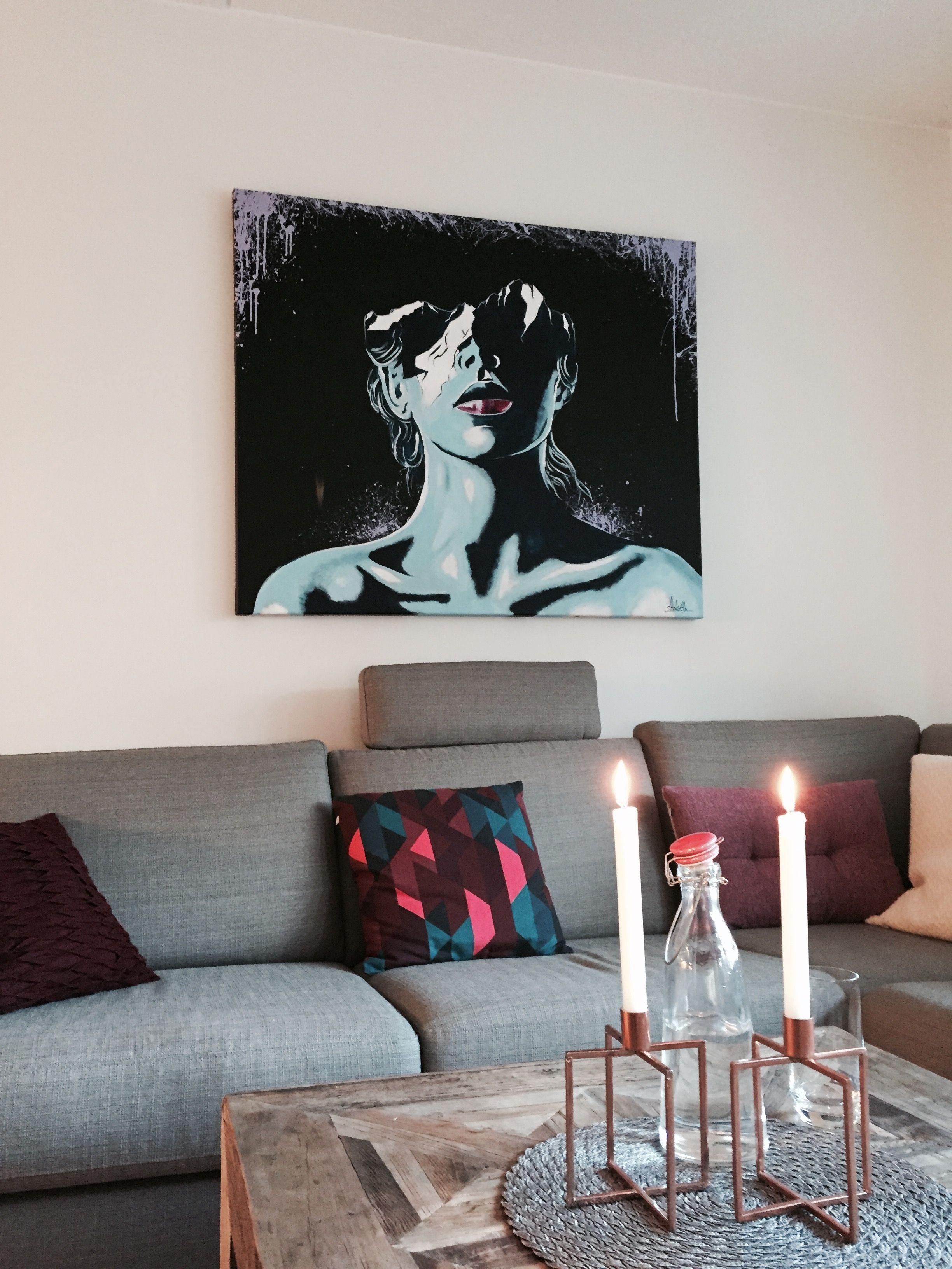 interior design pop art artist halseth art by halseth