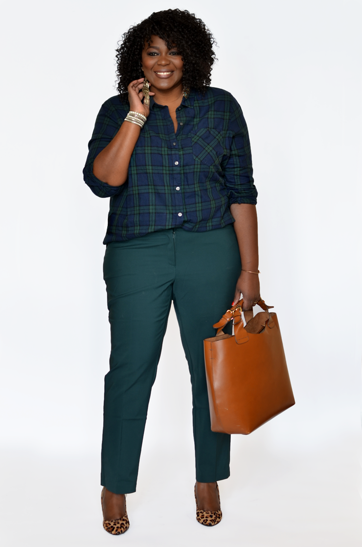 Plus size Dress pants for work  Plus size fashion, Plus size