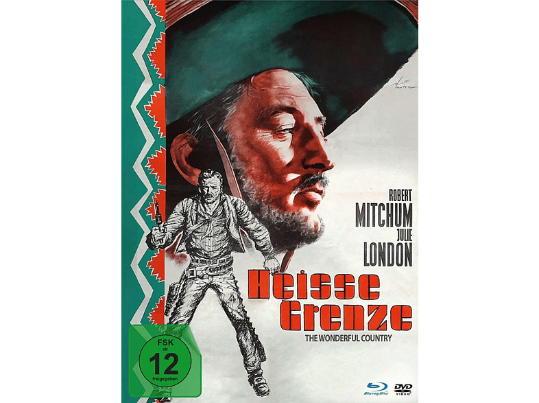 Heiße Grenze-mediabook-edition (dvd+blu-ray) [blu-ray + Dvd]