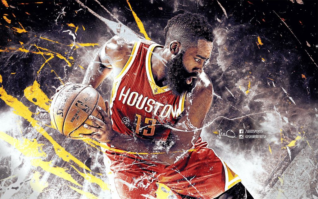 Hd Wallpaper Of James Harden 1 Player At The Nba S Kia Race To The Mvp Ladder At The Moment Dow Nba Wallpapers Basketball Wallpapers Hd Basketball Wallpaper
