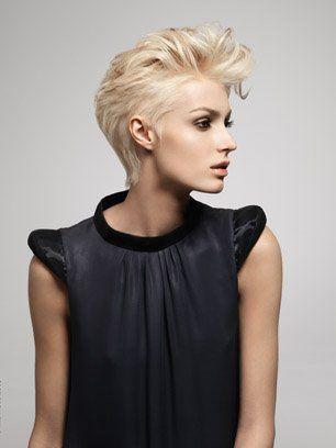 coupe courte 40 coupes pour cheveux courts coupe tendance cheveux courts et la coiffure. Black Bedroom Furniture Sets. Home Design Ideas