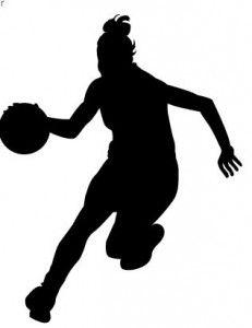 girl basketball player clipart 231x300 jpg 231 300 e rum rh pinterest com basketball players clip art basketball players clip art free