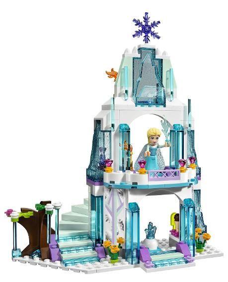 Figures Toy Frozen Elsa/&Anna Princess Castle Building Blocks Set Birthday Gift