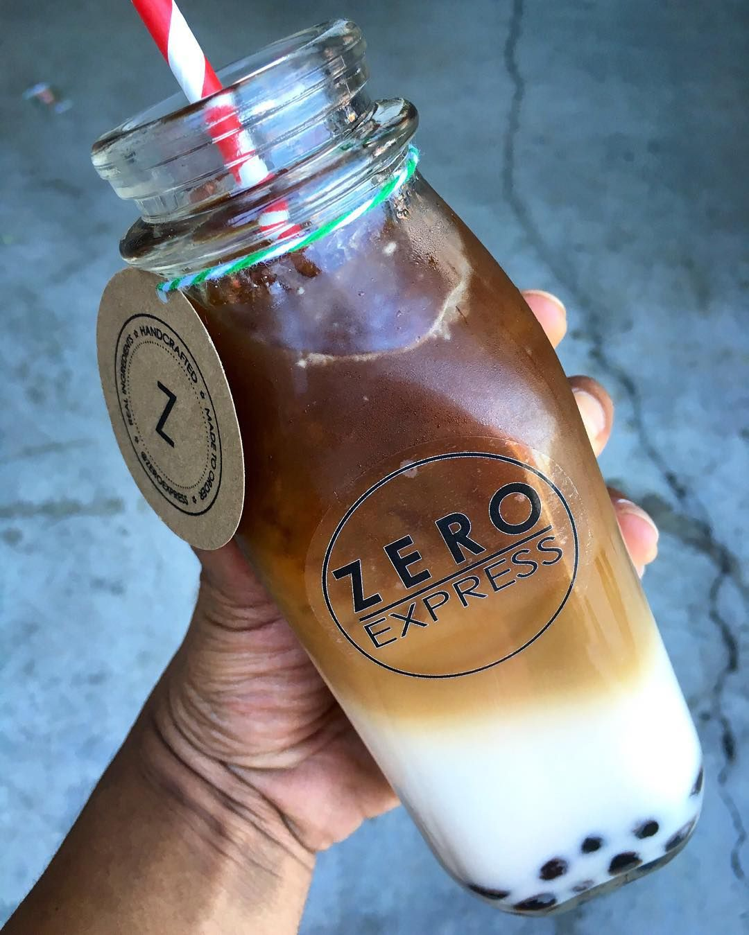 @zeroexpress craves!  It's buy 1 get 1 free every day open to close until this Sunday 12/13. Come grab a drink like this Coffee Horchata with boba  : @dailyfoodfeed : @zeroexpress #: #dailyfoodfeed : Snapchat dailyfoodfeed  TAG YOUR FRIENDS  by dailyfoodfeed