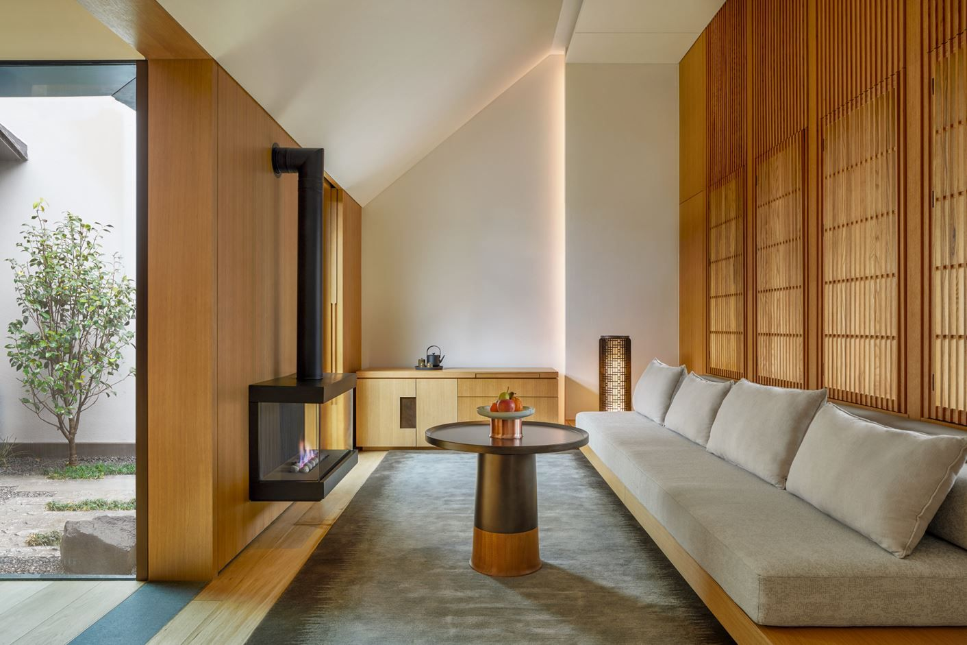 Amanyangyun Picture Gallery Kerry Hill Architects Architect