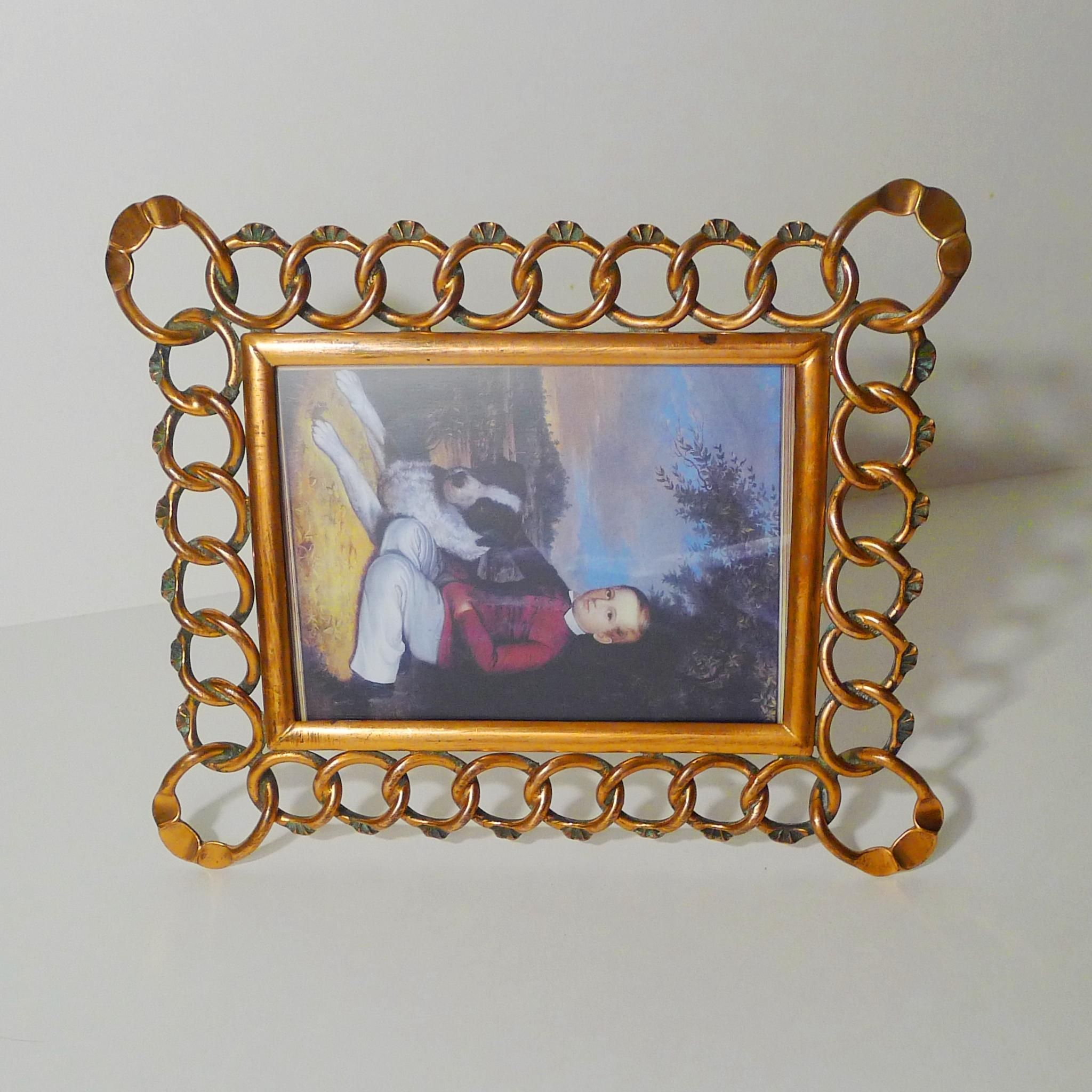 Copper drgm horizontal vertical antique picture frame copper drgm horizontal vertical antique picture frame jeuxipadfo Image collections