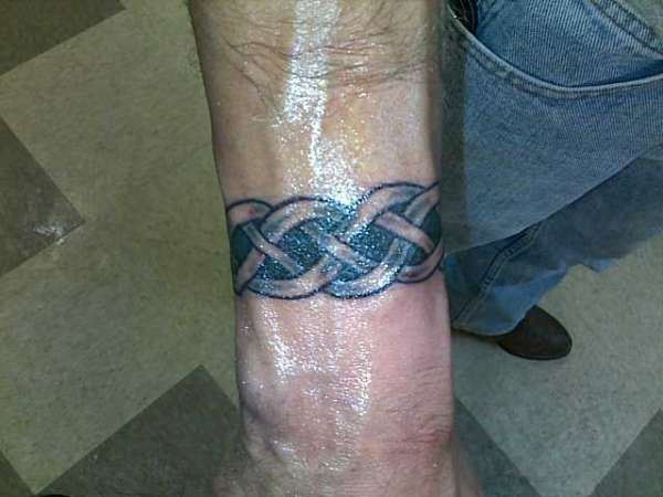 Celtic Wrist Tattoos For Men Projects To Try Pinterest border=