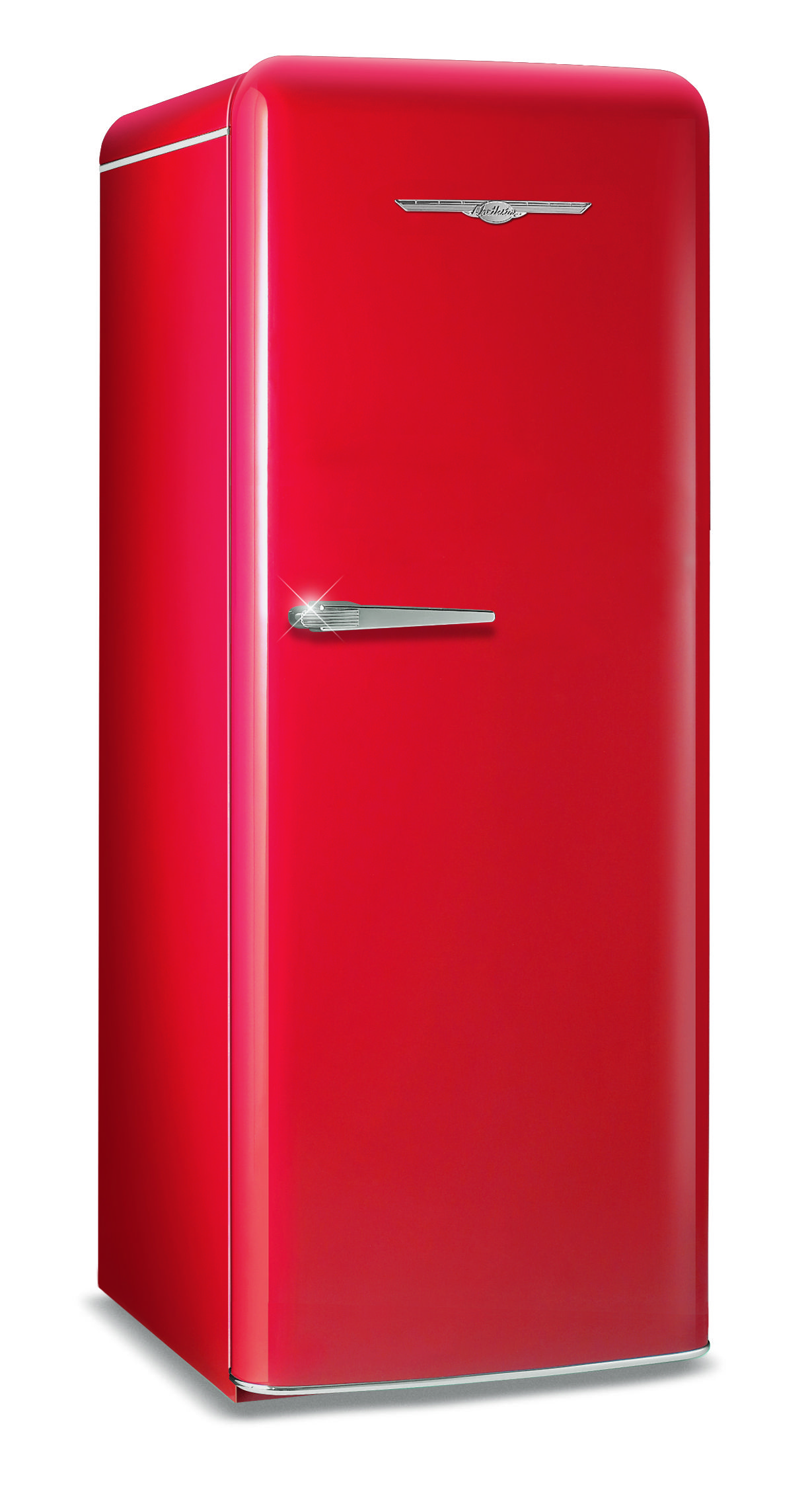 For those seeking a small retro look fridge for the kitchen try