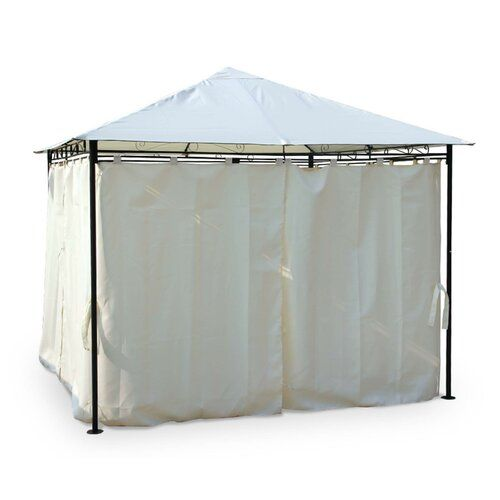Kahl 3m X 3m Steel Patio Gazebo Sol 72 Outdoor Colour Roof Ecru Patio Gazebo Gazebo Aluminum Gazebo