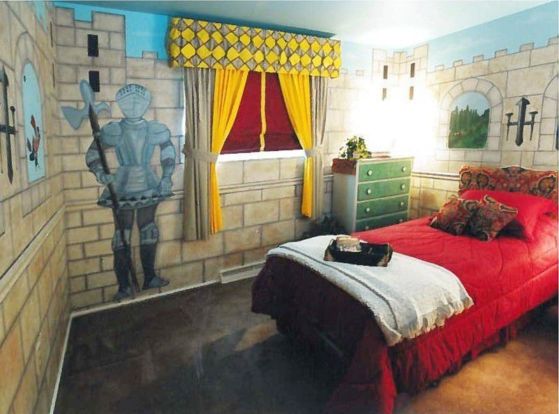 Castle Bedroom Idea For Indias New Room