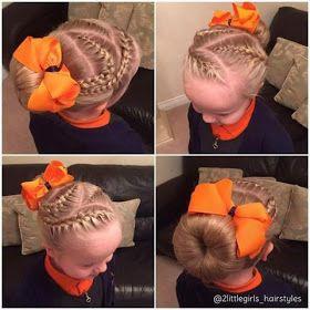 تسريحات بنات مرفوعة تسريحات اطفال تسريحات جميلة تسريحة سهلة تسريحة بسيطة تسريحة للمدرسة Bun Hairstyles Hair Styles Hair