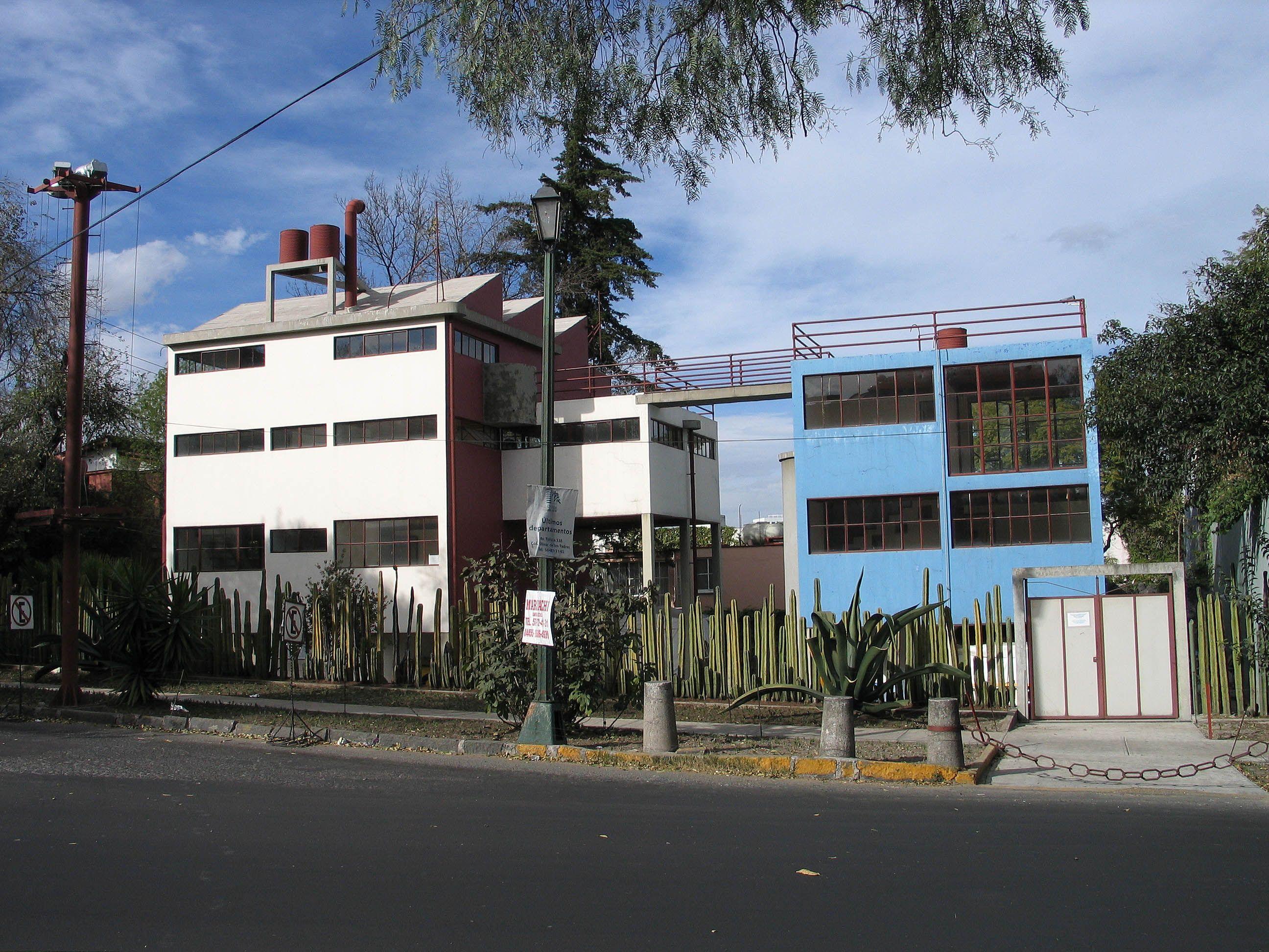 Casa de Diego y Frida -  Juan O'Gorman