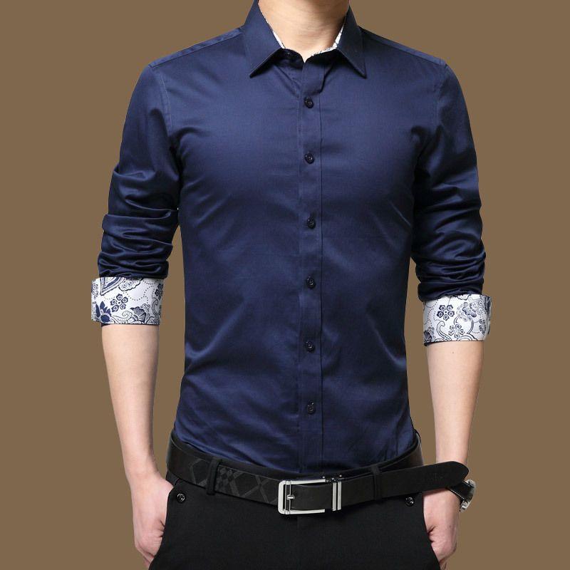 High fashion dress shirts for men