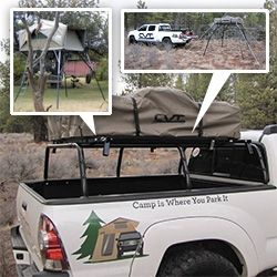 For those roof top tent lovers who want the versatility of being able to leave c& set up and still drive around. Also an interesting option to help remove ... & Cascadia Vehicle Tents (CVT) Base-Camp Roof Rack aka Spider Rack ... memphite.com