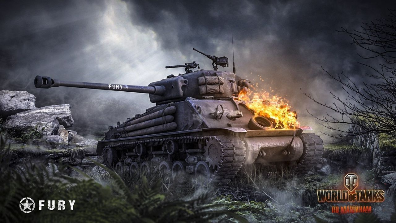 Fury And Tank Wallpapers Fan Art World Of Tanks Official
