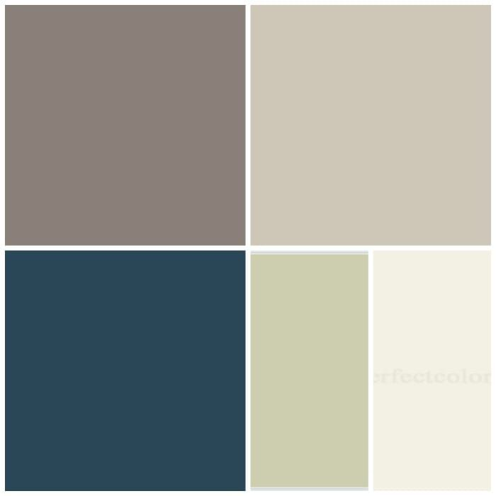 Color Schemes Taupe Orange Ivory: House Color Schemes, Taupe Color