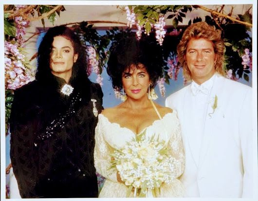 if you remember elizabeth taylor and larry fortensky