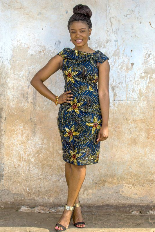 kampala fair doris dress contemporary african fashion pinterest rh pinterest com