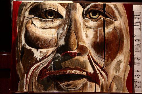 Elena Gabbin . oil painting on canvas