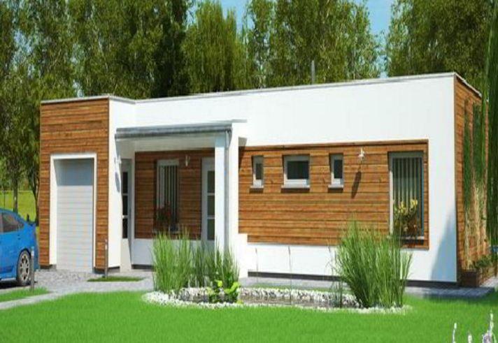 Fachadas De Casas De Una Planta Bonitas Y Sencillas Planos De Casas Planos De Casas Modernas Casas De Una Planta
