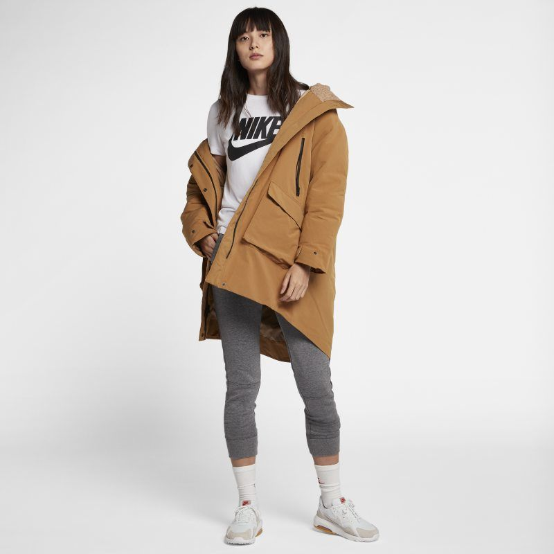 e50b0d7c7 Nike Sportswear Tech Pack Down-Fill Women's Parka - Brown | Products ...