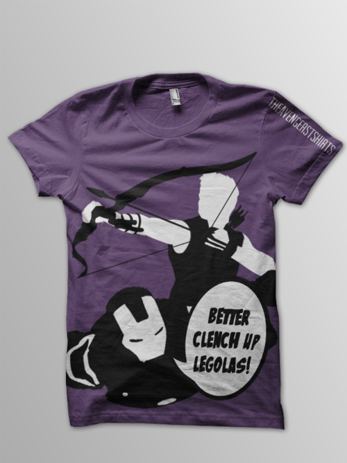 How bad do you want this shirt? #Avengers #IronMan #Hawkeye