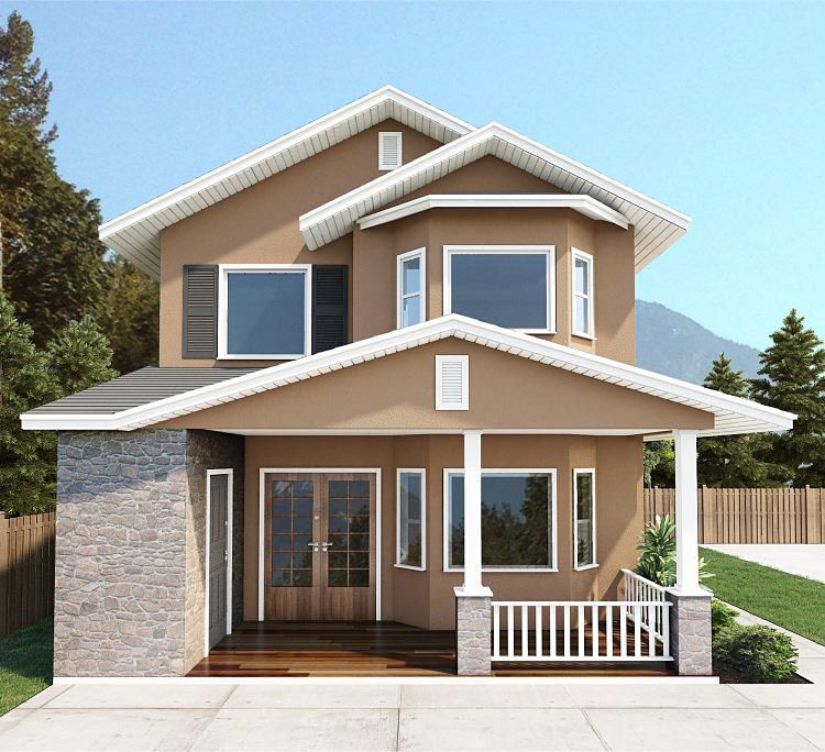 Country Multi-Family Plan 96231 Elevation
