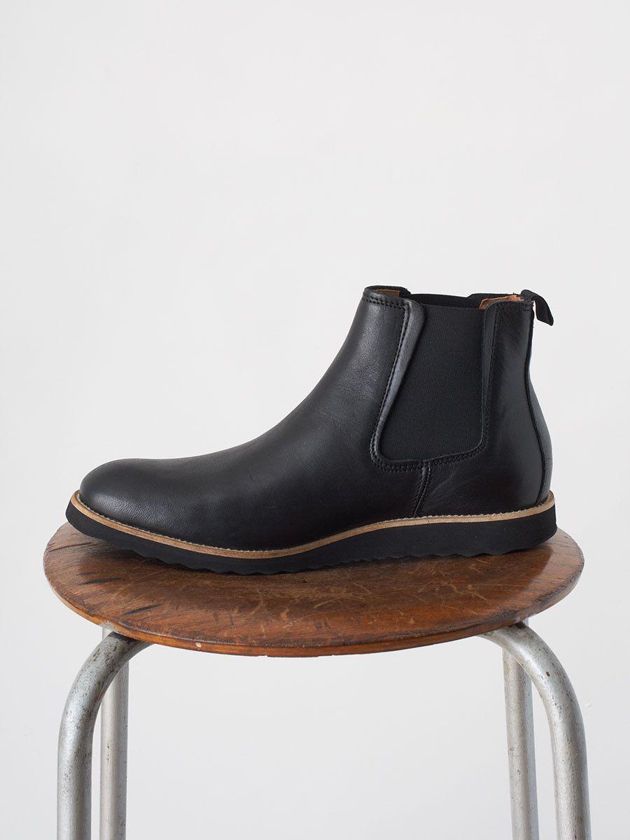 Kristensen Chelsea Boot Aniline fra Et Al Design i Sort | Vi har Danmarks største udvalg af sko fra Et Al Design på stvalentinshop.dk I Gratis fragt ved køb for min. 700 DKK