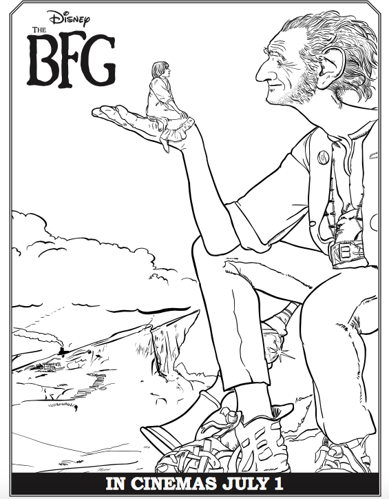 bfg coloring pages The BFG Coloring Sheets and Activity Pages | Bfg | Pinterest  bfg coloring pages