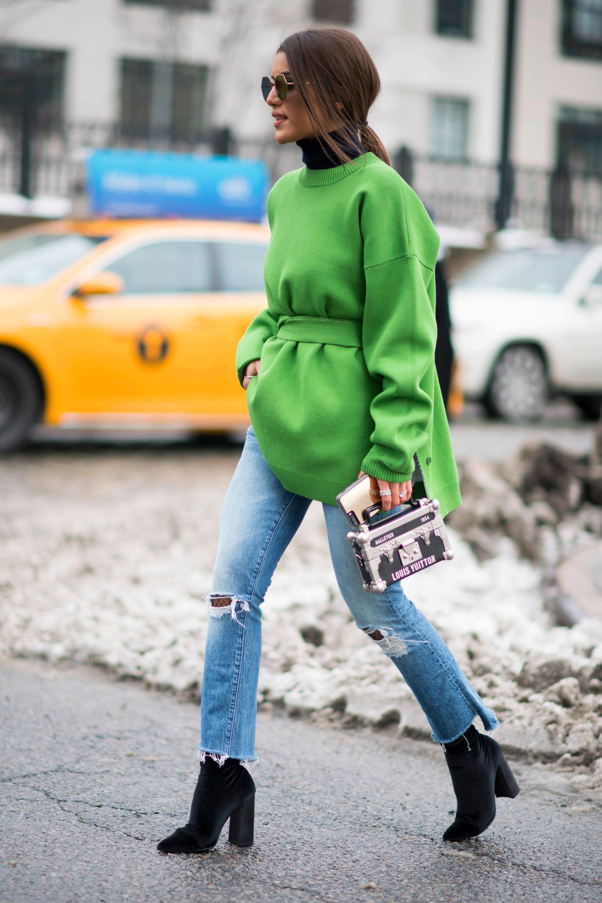 Spring nyfw brightest street style moments pictures