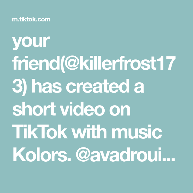Your Friend Killerfrost173 Has Created A Short Video On Tiktok With Music Kolors Avadrouin Here You Go Thanks For The Originals Harry Styles Preschool Mom