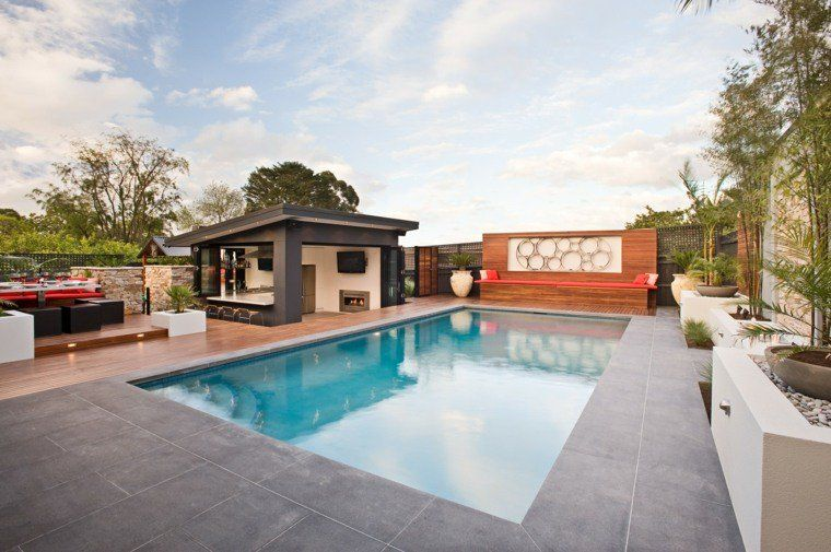Gazbo Et Abri Soleil  Des Ides Pour Jardin Avec Piscine  Pool