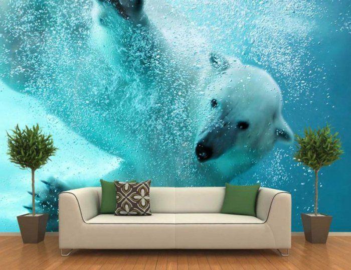 quels stickers trompe l 39 oeil choisir id es en 50 photos room stickers wall murals and walls. Black Bedroom Furniture Sets. Home Design Ideas