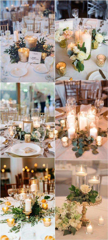 20 Greenery Wedding Centerpieces You'll Love | Wedding ...