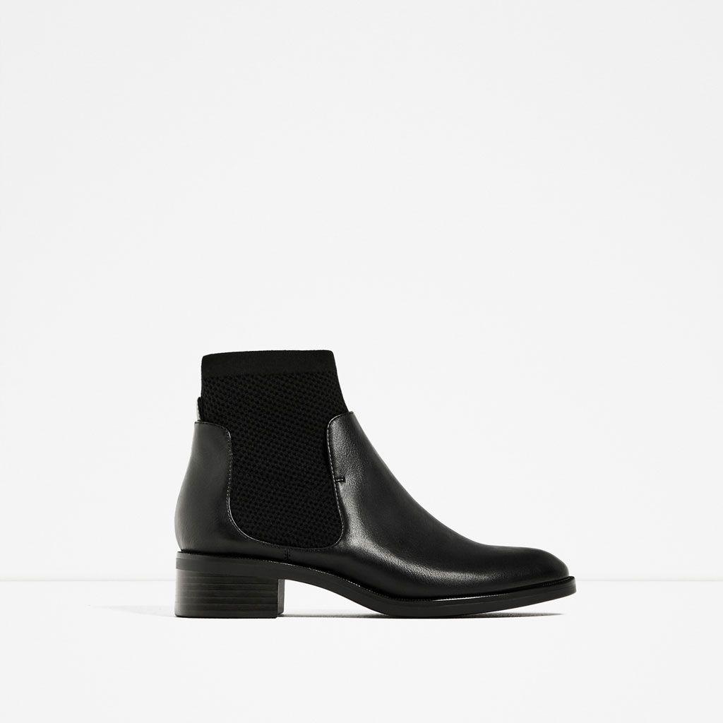 flat sock boots