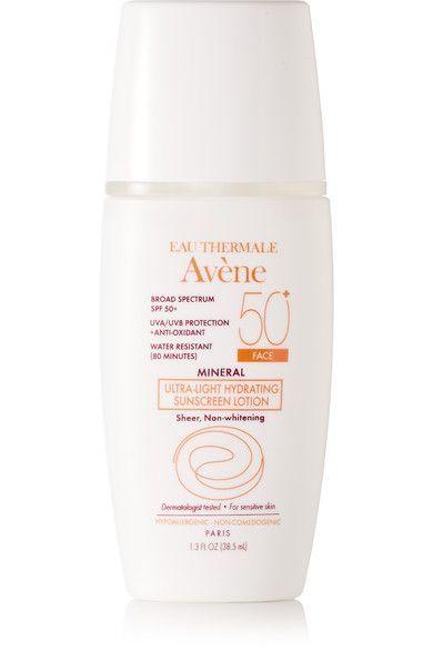 40b1e0d6fe96 Avene - Spf50 Mineral Ultra-light Hydrating Sunscreen Lotion, 38.5ml -  Colorless