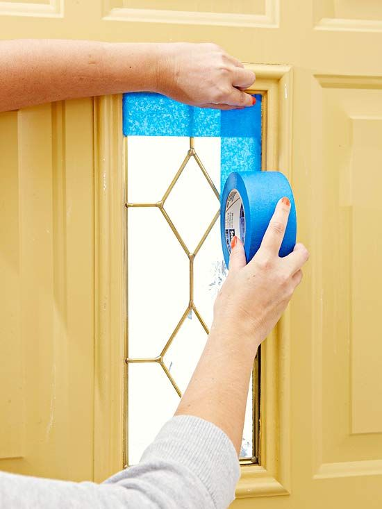 Follow these steps for painting an exterior door to increase curb ...