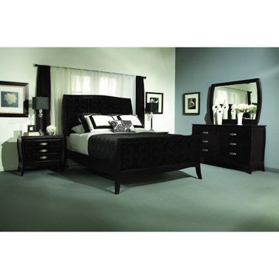 Belle Noir Collette King Bed ***OUTLET***   Bernie And Phyls