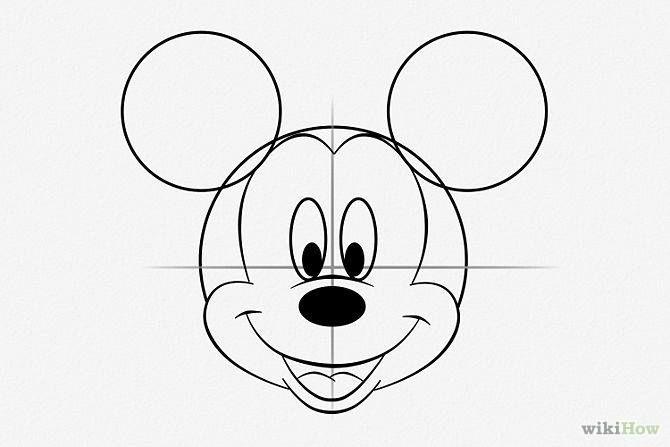Tuto Diy Le Gateau Mickey Dessin Mickey Souris Dessin Mickey