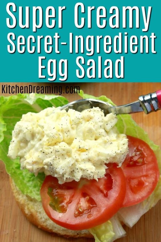 Super Creamy Restaurant Style Egg Salad Cookies Recipes Salad Telur Resep Salad Resep Makanan