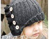 Love, love, love these knitted hats.  Patterns are for all sizes...crocheted ones too!