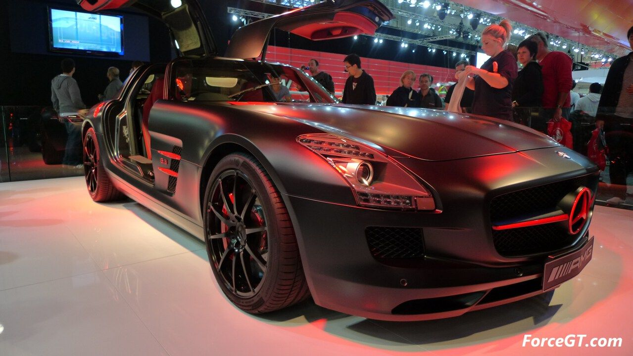 cars with special paint jobs special edition sls amg