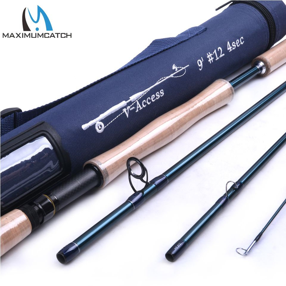Maximumcatch Fly Fishing Rod Sk Carbon Fiber 9ft 12wt 4pcs Full Well Fast Action With Cordura Tube Carbon Fly Rod Fly Fishing Rods Fly Fishing Fly Rods